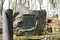 Gedenkstein für verunglückte Bergleute Muttental.jpg