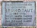 Gedenktafel Fritz-Reuter-Allee 46 (Neuk) Bruno Taut.JPG