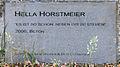 Gedenktafel Robert-Rössle-Str 10 (Buch) Es ist so schön neben dir zu stehen&Hella Horstmeier&2006.jpg