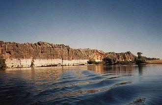 Fitzroy River (Western Australia) - Geikie Gorge in 2003