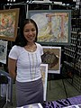 Gen Con Indy 2007 - one of many artists present.JPG