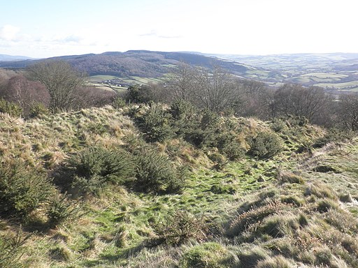 Geograph 3319707 Site of Bury Castle, Iron Age Fort