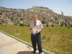George Grigore - George Grigore in Mardin, 2006