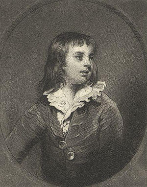 George Howard, 6th Earl of Carlisle - The Earl of Carlisle as a child.