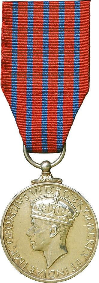 George Medal - Image: George Medal obverse
