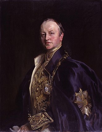 All Souls College, Oxford - George Nathaniel Curzon by John Cooke – British Conservative statesman who was Viceroy of India and Foreign Secretary.