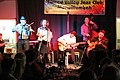 George Washingmachine and band, Murwillumbah, November 2014.jpg