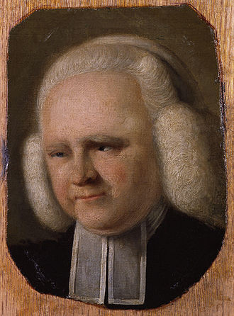 John Russell (painter) - Portrait of George Whitefield