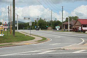 Georgia State Route 75 - Georgia State Route 75 in Cleveland
