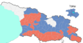 Georgian parliamentary election 2012, uninominale winners.png