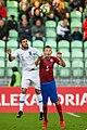 Georgios Ntaviotis & Dominik Plechatý, U21 CZE-GRE 2019-10-10.jpg