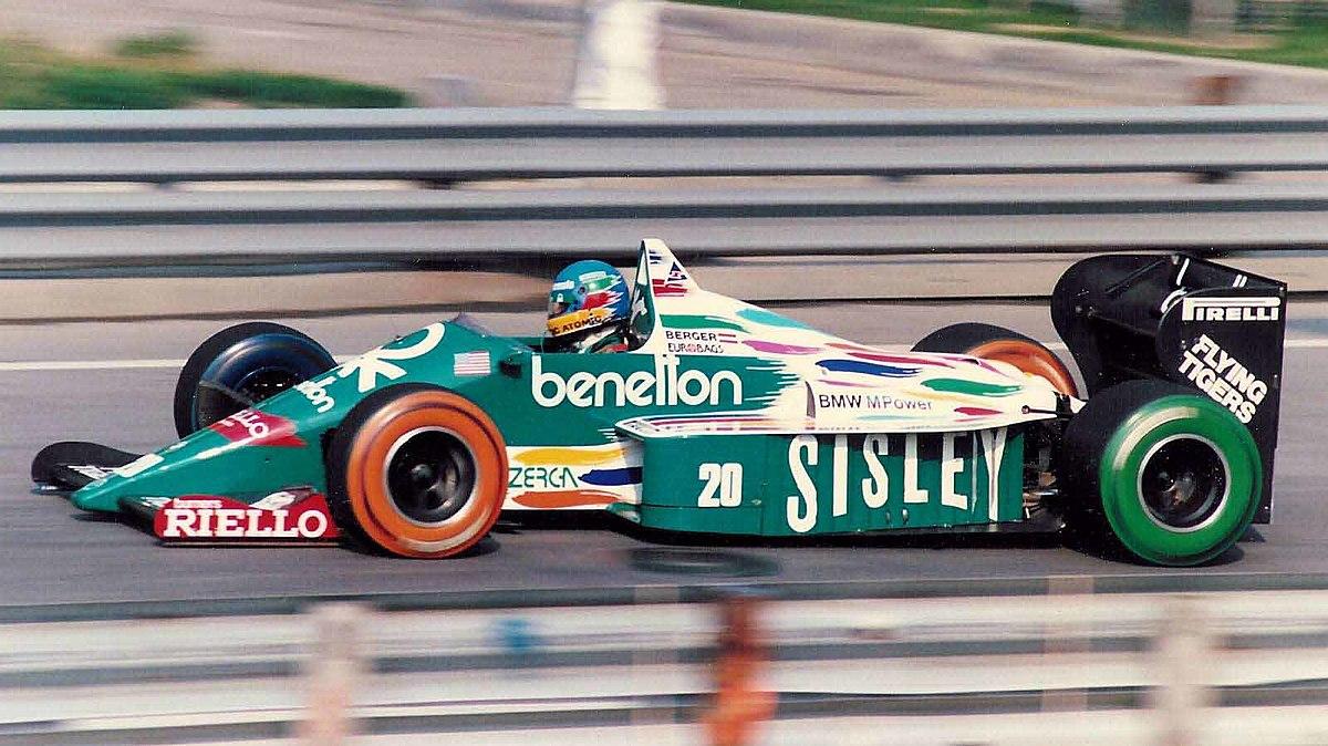 Benetton B186 Wikip 233 Dia
