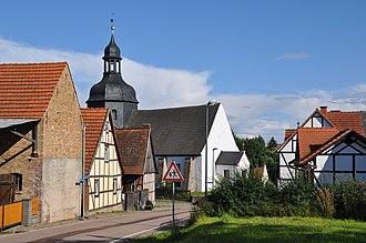 Sangerhausen - Ortschaft (village) Rotha