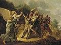 Gerrit Claesz. Bleker - De ezelin met de profeet Bileam door de Engel tegengehouden - 1060 (OK) - Museum Boijmans Van Beuningen.jpg