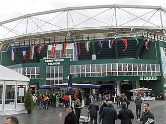 Halle (Westfalen) - The Gerry Weber Stadion during the Handball World Cup 2007 in Halle (Westphalia)