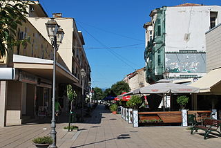 Gevgelija Town in Southeastern, North Macedonia