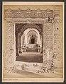 Gezicht op een doorgang in de Hathi Singh tempel in Ahmedabad Huthi Singh's Tomb. Ahmedabad 2236 (titel op object), RP-F-F02448.jpg