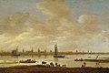Gezicht op een gefantaseerde stad aan een rivier met de toren van Saint Pol uit Vianen Rijksmuseum SK-A-4879.jpeg