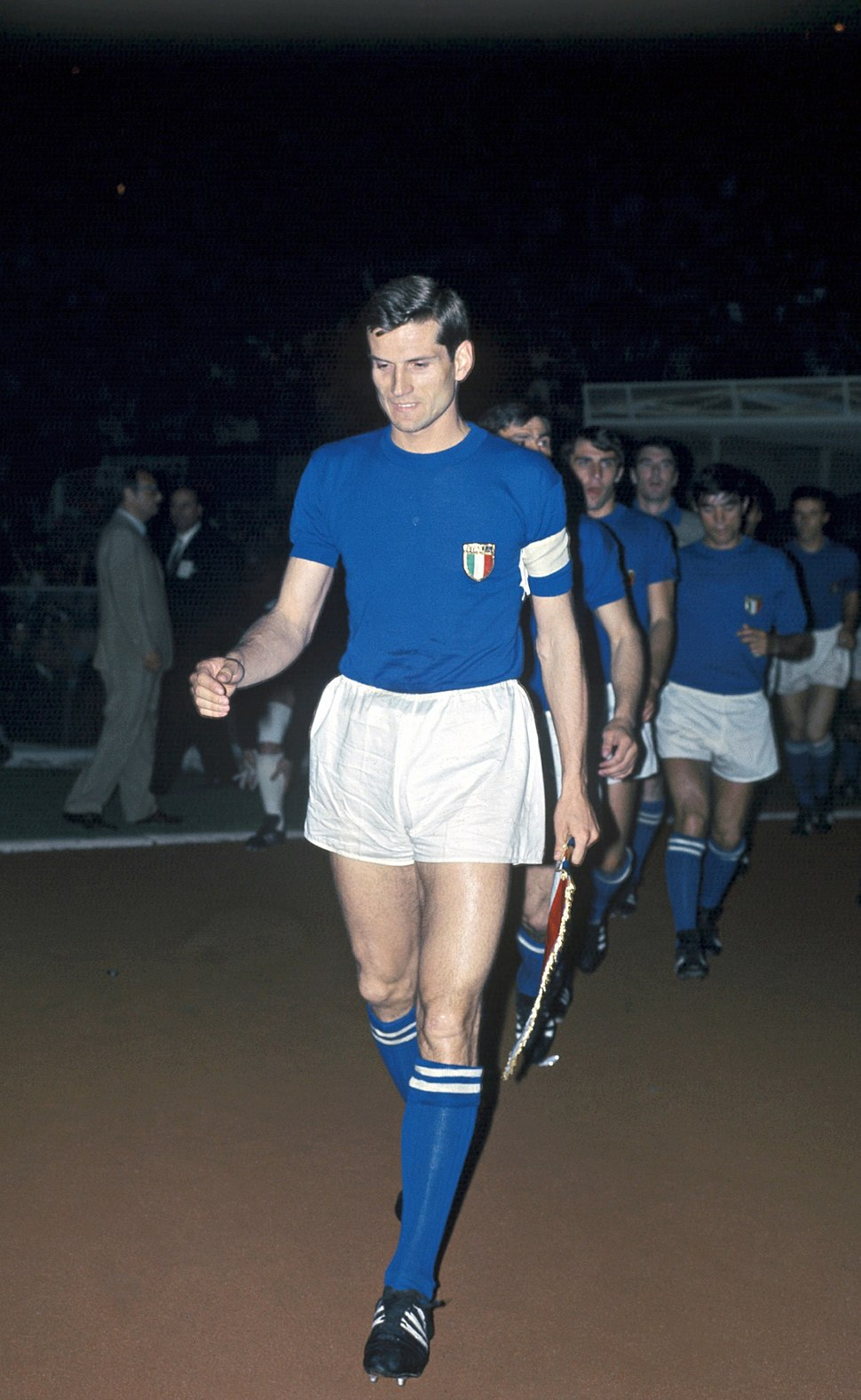 Giacinto Facchetti, Italia, Euro '68