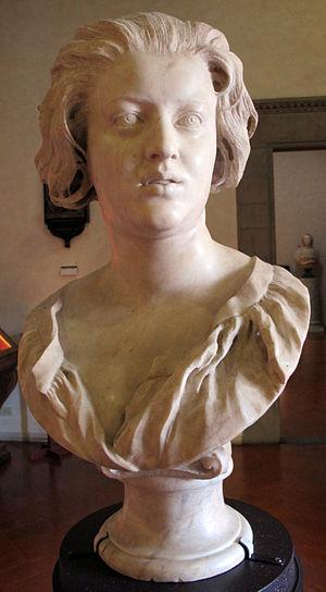 Bust of Costanza Bonarelli - Image: Gianlorenzo bernini, ritratto di costanza bonarelli, 1637 38, 02