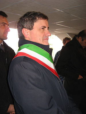 Gianni Alemanno, Mayor of Rome. Italiano: Gian...