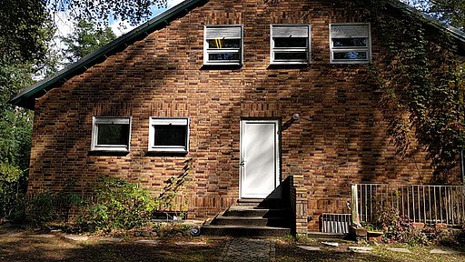 Giebel West Siedlungshaus Lehnitz-Nord