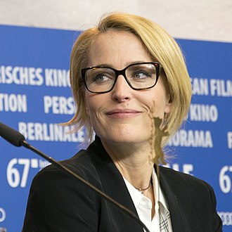 Gillian Anderson - Anderson at the 2017 Berlin Film Festival