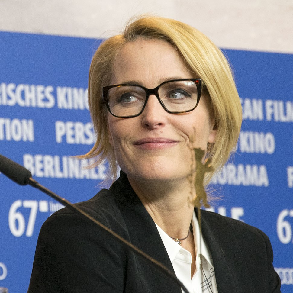Gillian Anderson at the 2017 Berlinale
