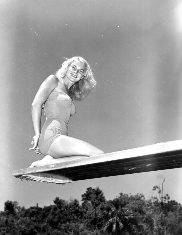 Ginger Stanley Weeki Wachee Springs, Florida 1951
