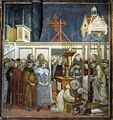 Giotto di Bondone - Legend of St Francis - 13. Institution of the Crib at Greccio - WGA09135.jpg
