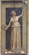 Giotto di Bondone - No. 45 The Seven Virtues - Charity - WGA09272.jpg