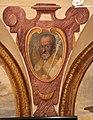 Giovanni da san giovanni, Cristo servito dagli angeli, Sant'Agostino, San Bartolomeo, 1629, 02.JPG