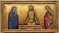 Giovanni del biondo, tre scomparti di predella, 1370-90 ca. 01 pietà.JPG