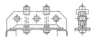 Boiler stay - Image: Girder boiler stay (Bentley, Sketches of Engine and Machine Details)