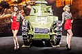 Girls and a tank at Igromir 2012 (8056929443).jpg