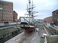Gloucester Docks - Schoener Ship (Phoenix) and dry dock - geograph.org.uk - 609638.jpg