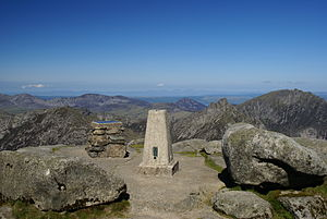 Goat Fell - Goatfell summit on a clear day.