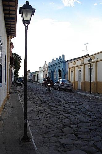 Goiás, Goiás - Image: Goiasruas