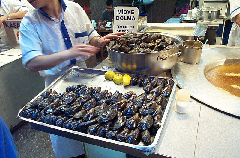 Midye dolma. From Best Street Foods in Istanbul, Turkey
