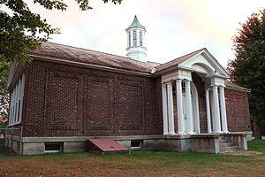Goodrich School - Front of the school