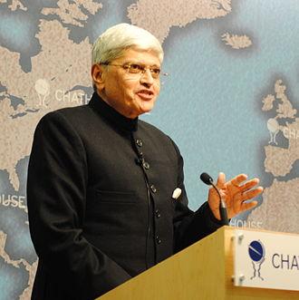 Gopalkrishna Gandhi - Image: Gopalkrishna Gandhi Chatham House 2010
