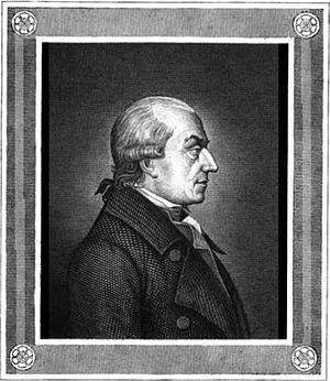 Gottlieb Konrad Pfeffel - Portrait from Volume 10 of the 1841 edition of the Poetische Versuche