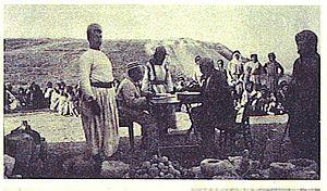 Gottlieb Schumacher - Gottlieb Schumacher in Tell Megiddo