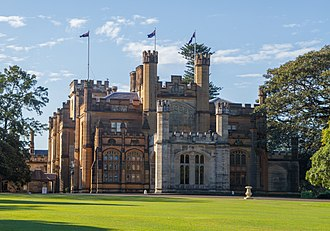 Edward Blore - Government House, Sydney, Australia.