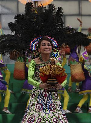 Governor Gwen Garcia, Sinulog 2010, Cebu City