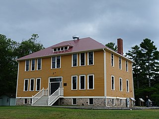 Government Boarding School at Lac du Flambeau United States historic place