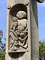 Grabstätte Oskar S. Geiges - Detail 8- Hauptfriedhof Freiburg Breisgau.jpg