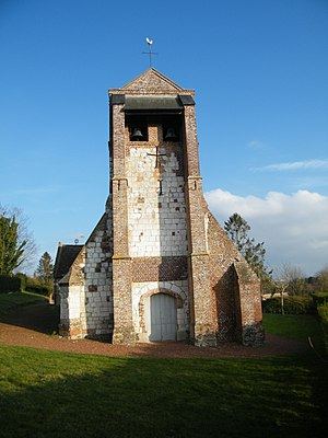 Grand-Laviers - Church tower