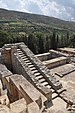 Grand Staircase in Knossos, Crete 001.JPG