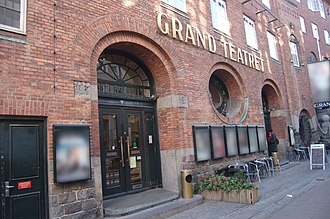 Grand Theatre (Copenhagen) - The Grand Theatre in Mikkel Bryggers Gade